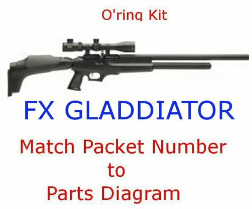 FX Gladiator O/'ring Kit