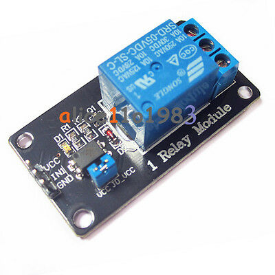 2PCS One 1 Channel Isolated 5V Relay Module Coupling For Arduino optocoupler