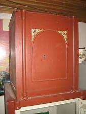 Alter Antik Wohnraum Tresor Verzierung Waffenschrank Wertschrank Art Deko Möbel