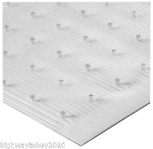 Tenex 1026000 27 Quot X 100 Ft Clear Vinyl Low Pile Carpet