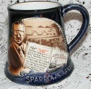 Great-Yarmouth-Pottery-1988-Ltd-Edition-Mug-Sparrow-039-s-Nest-Lowestoft-202-Of-500