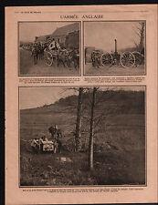 WWI British Army Red Cross Field kitchen/Poilus Pas-de-Calais 1915 ILLUSTRATION