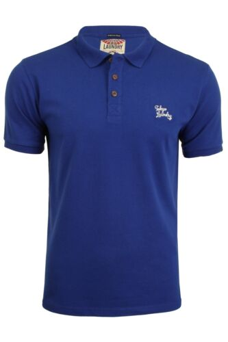 Mens Stretch Pique Polo T-Shirt by Tokyo Laundry /'Roseville/'