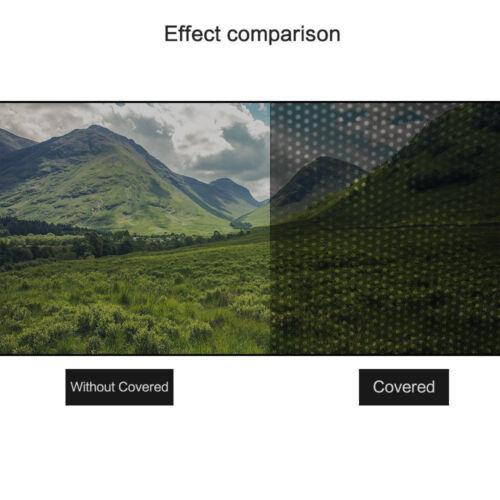 2X Car Auto Side Window Mesh Film Windshield Sun Shade Net Sticker UV Protection