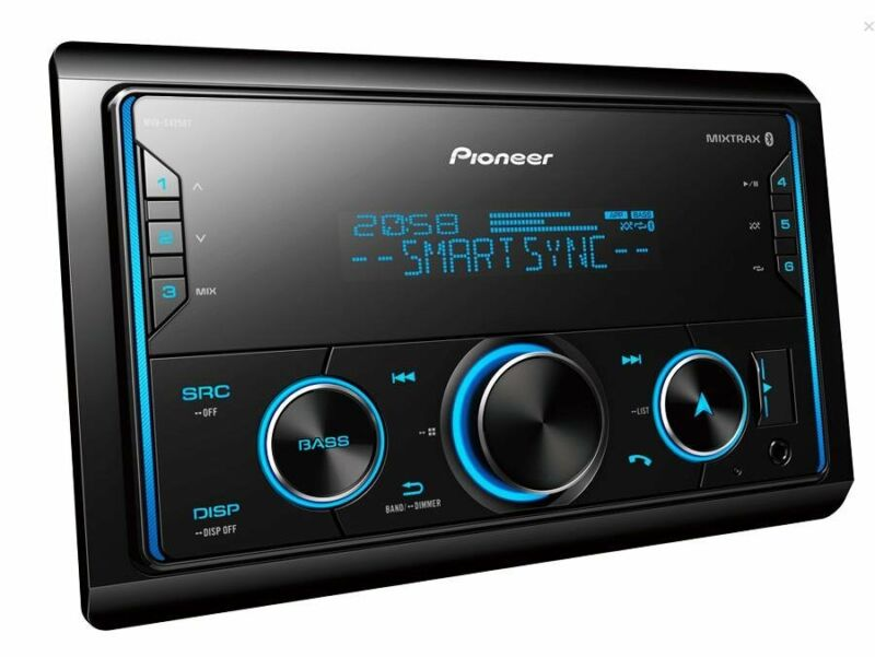 Pioneer MVH-S425BT Media Player with Bluetooth, Spotify and Siri