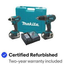Makita 18V LXT 2 pc. Combo Kit XT211-R Certified Refurbished