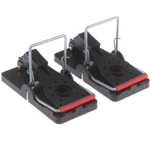 2Pcs Mouse Trap-Rat Traps Snap Rodent Killer Mice Trap and Easy To Use Snap Trtb