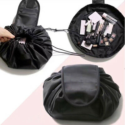 Magic Travel Pouch Drawstring Portable Travel Cosmetic Bag Makeup Toiletry UK 5060401359942 | eBay