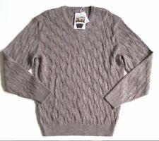 $150 Nwt Daniel Cremieux Signature Collection Alpaca Cable Knit Sweater, XL