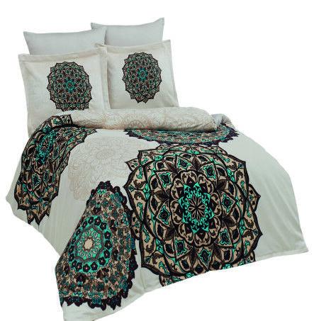 BettwÄsche 1016 Vaiana In Bunt 135x200 Baumwolle Garnitur Bezug Bett Neuware Bettwäschegarnituren Bettwaren, -wäsche & Matratzen