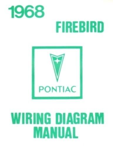 pontiac 1968 firebird wiring diagram 68 for sale online ebaypontiac 1968 firebird wiring diagram 68