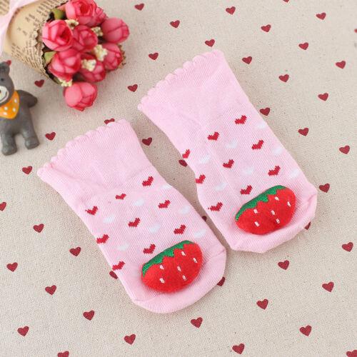 Säugling Baby Kleinkind 3D Karton rutschfeste Socken Schuhe Pantoffel Socken