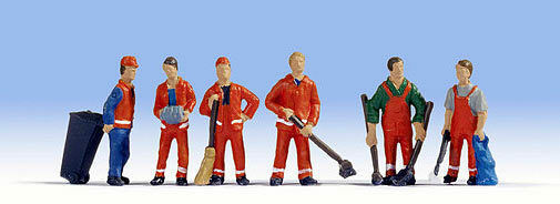 Figurines Noch H0 (15029): City Cleaning