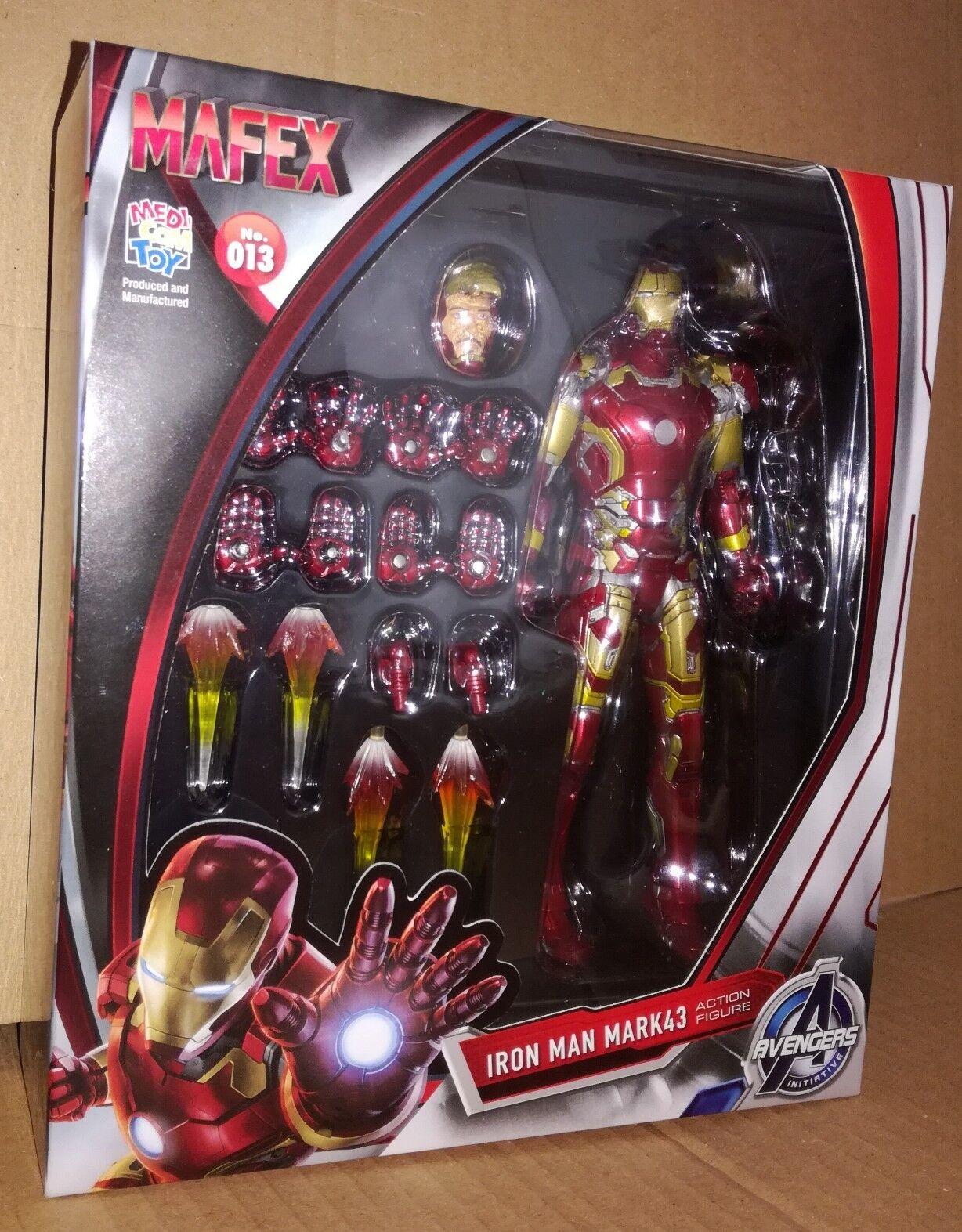 Medicom Mafex 013 Iron Man Mark 43 Marvel DC Comics