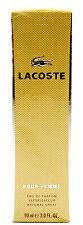 (GRUNDPREIS 144,33€/100ML) LACOSTE POUR FEMME 90ML EAU DE PARFUM NATURAL SPRAY