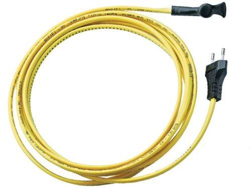 5 m cordon électrique avec thermostat intégré antigel,15w par m