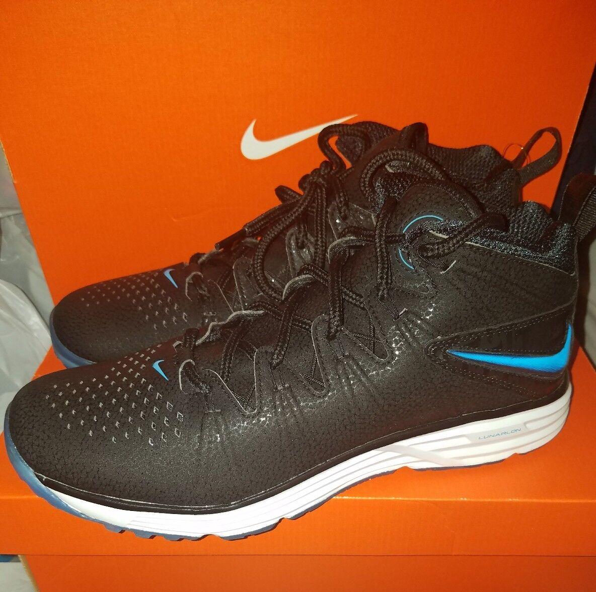 Nike huarache 4 aeroporto elite territorio scarpe blu numero nero 807118 040 uomo numero blu 9 407436