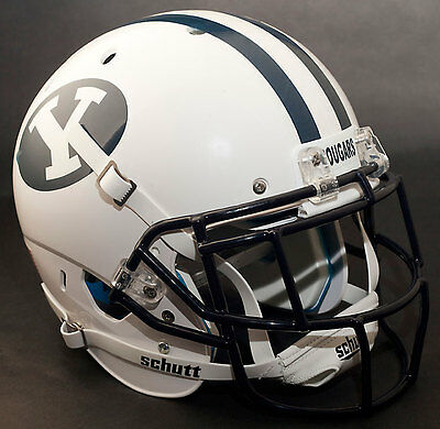 BRIGHAM YOUNG COUGARS NCAA Schutt XP Authentic MINI Football Helmet BYU MATTE BLACK