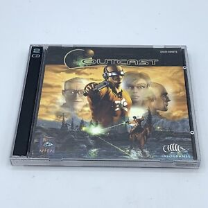 Outcast PC Video Game (Infogrames 1999) 2 Disc Set