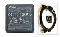 Nikon Ac Adapter + Cable For S6300 S8200 S9100 S9200 S9300 P300 P310 P500 P520