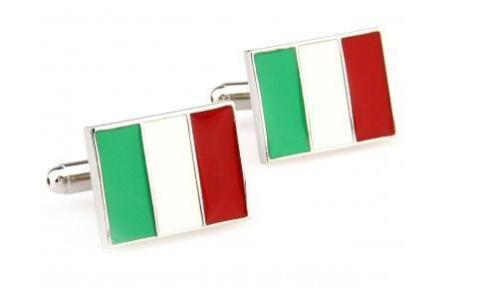 Italian Flag Italy Cufflinks Frederick Thomas FT1249 Euro 2016 6//Six Nations