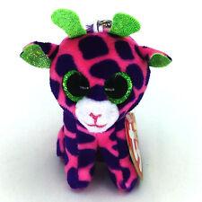 "Ty Beanie Boos Gilbert Pink Giraffe 3.2"" Stuffed Animals Toys Child Gift"