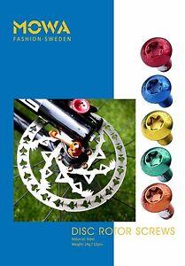 MOWA-Cyclocross-Mountain-MTB-Bicycle-Cycling-Bike-Disk-Brake-Rotor-Bolts-Screws