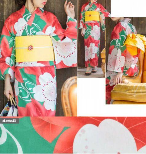 Japanese Women/'s Yukata Kimono Obi Belt Set 15 Fast Shipping From Japan EMS