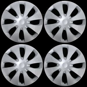 "Set of 4 New 2012-2016 Toyota Prius C 15"" Wheel Covers Hub Caps Full Rim Skins"