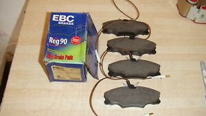 PEUGEOT-406-EBC-STANDARD-FRONT-BRAKE-PADS-P-N-DP1049-QUALITY-BRAKE-PADS