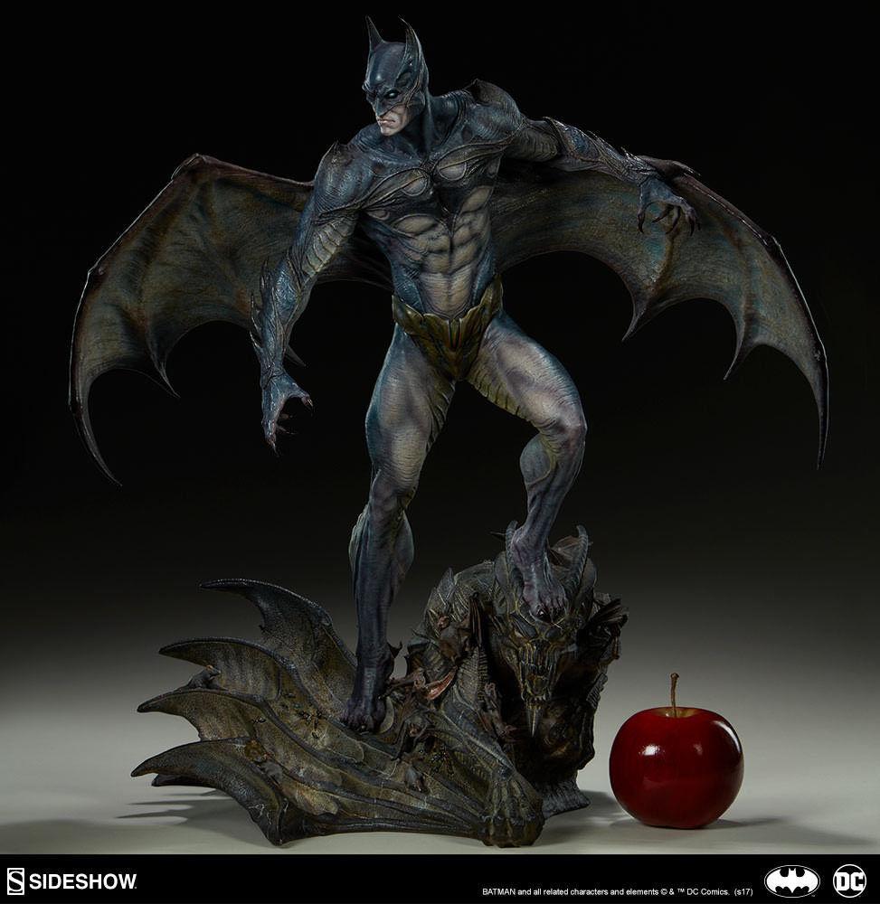 läderlappen Gotham City Nightmare samling Staty sideshow 200424