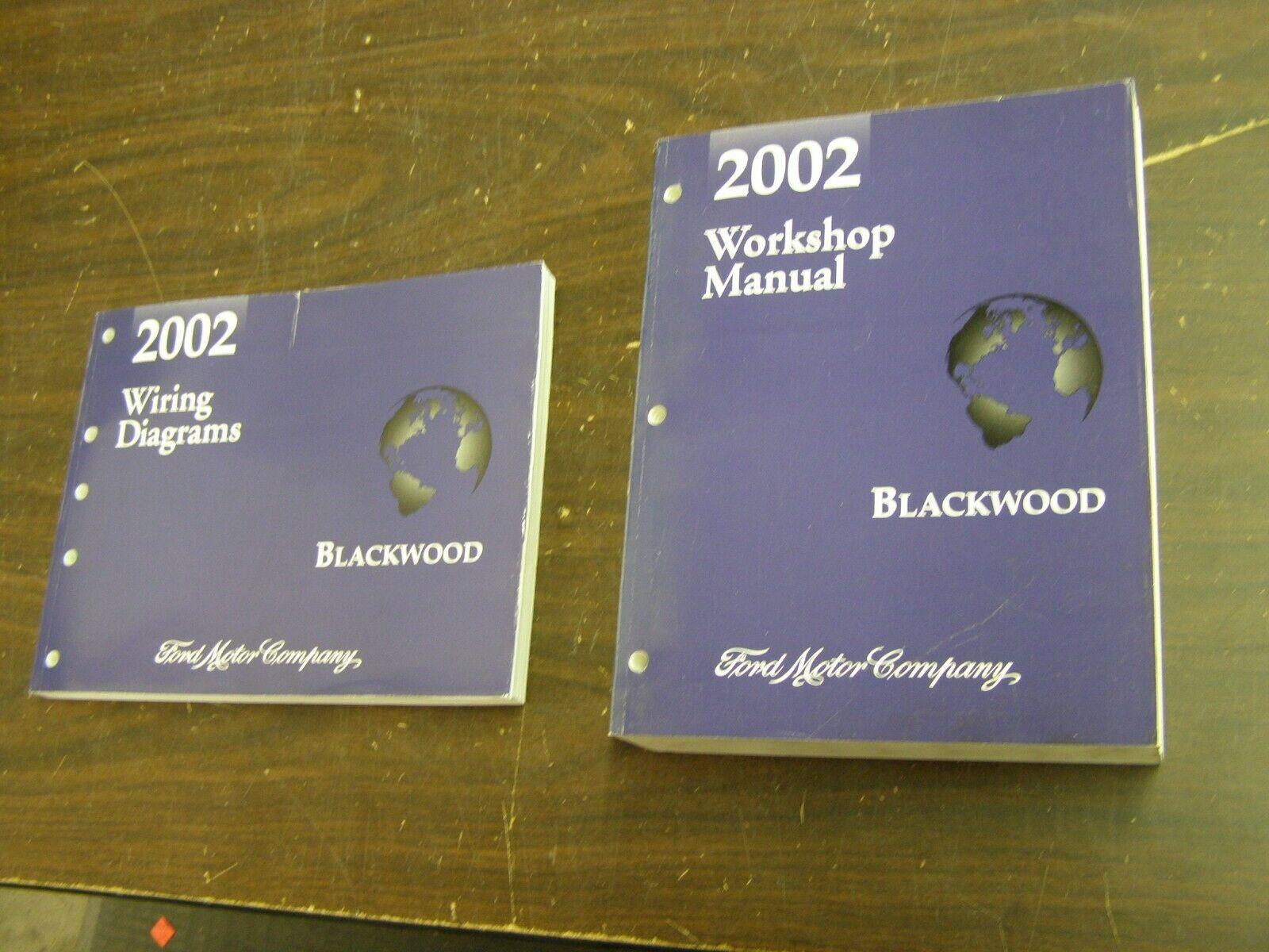 Oem 2002 Lincoln Blackwood Truck Pickup Shop Manual Book Wiring Diagram Nos For Sale Online Ebay
