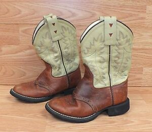 33ab4109323 Genuine Old West (CW2552) Size 115 (4) Child s Brown   Tan Cowboy ...