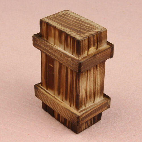 Gift Wood Bored Brain Puzzle Box Tricky Props Prank Toy Room Escape