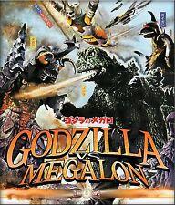 Godzilla Vs. Megalon (Blu-ray Disc, 2014)