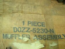 NOS 1970 - 1973 FORD MUSTANG 250 6 CYLINDER EXHAUST MUFFLER D0ZZ-5230-N NEW OEM