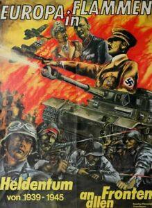 35mm Trailer Europa in Flammen Seit 5.45 Uhr wird zurückgeschossen 1961 Rommel