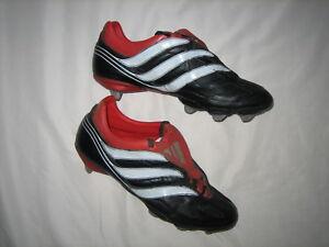 2e3b6c837e65 Image is loading adidas-predator-PRECISION-EQUIPMENT-vintage-VGC- football-boots-