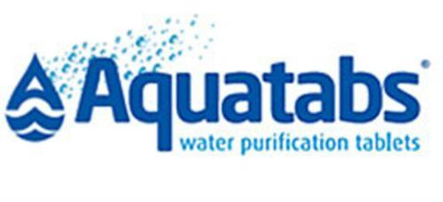 Aquatabs Potable Water Purification Tablet 167 mg treats 25 lt exp 8//23 Cheapest