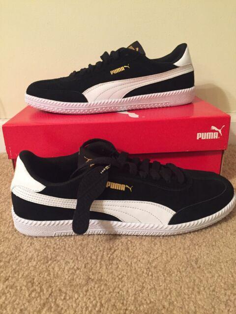 e25b215e Puma Astro Cup Men's Suede Sneakers Black White 364423 02 Size 10 NIB
