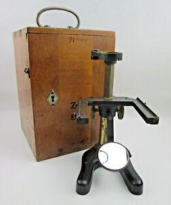 Ernst-Leitz-Wetzlar-Dissecting-Monocular-Microscope-MISSING-PARTS-FOR-REPAIR
