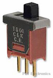 C-amp-K-COMPONENTS-TS01CBE-Schiebeschalter-Ts-Serie-Spdt-Vertikal-Durch