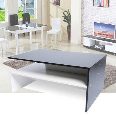 9fa37be9db2c Coffee Tea Table Wooden Modern Furniture Range Shelf Living Room Clearance  Sale