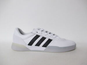 4c9790bfaaf Image is loading Adidas-City-Cup-White-Black-Leather-Ice-Sole-
