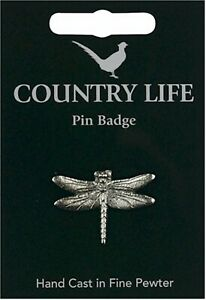 Overig Dragonfly Pewter Pin Badge dragon fly Country life