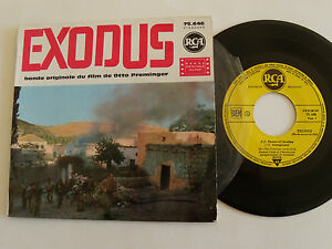 EXODUS-B-O-film-PREMINGER-ERNEST-GOLD-7-034-EP-1961-French-pressing-RCA-75-646