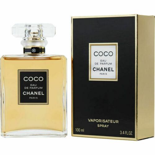 Coco Chanel 3.4 Oz / 100 Ml Eau De Parfum Perfume Spray For Women Brand New Edp