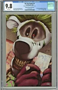Do You Pooh #1 CGC 9.8 Unknown Comics Metal Edition YOTV Joker Homage LTD to 30