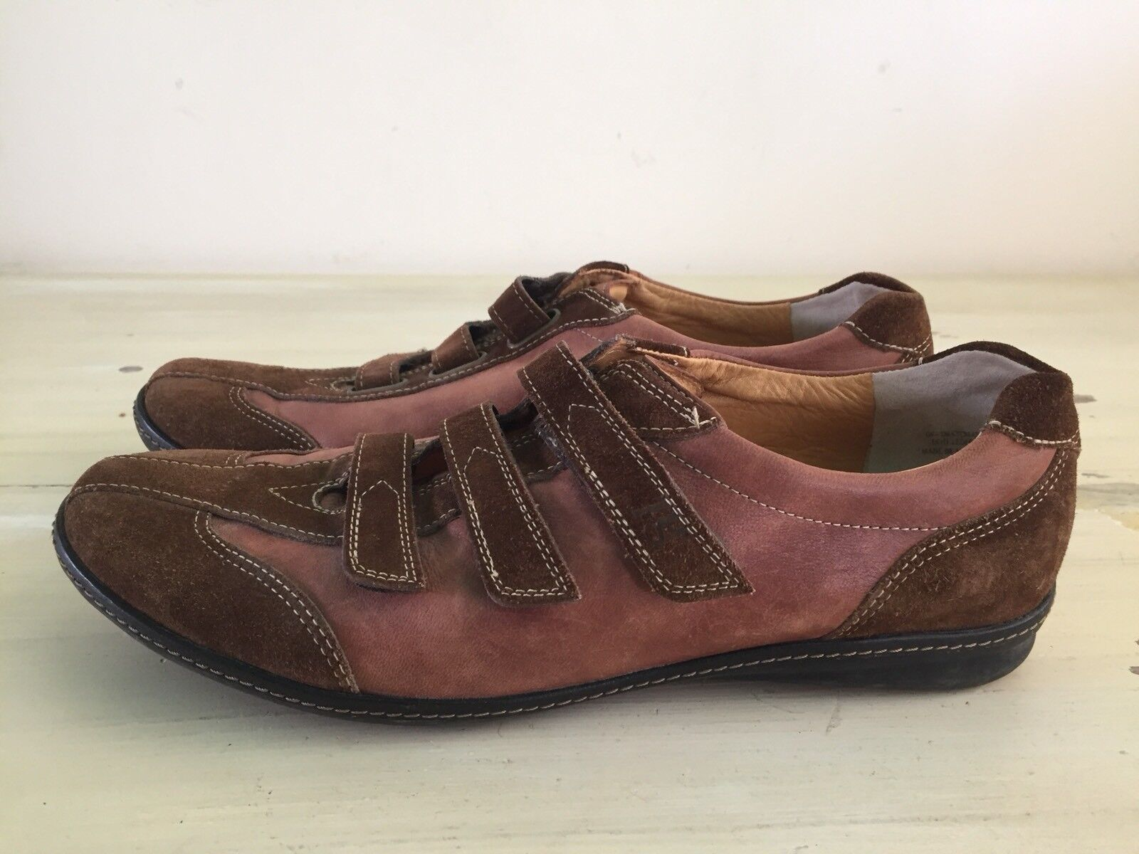 PAUL GREEN - Munchen Brown Suede Leather Casual Sneakers shoes, Womens 8