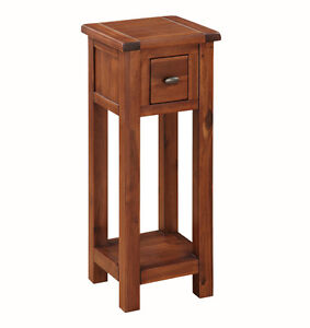 Prussia acacia telephone table solid dark wood hall table tall image is loading prussia acacia telephone table solid dark wood hall aloadofball Choice Image